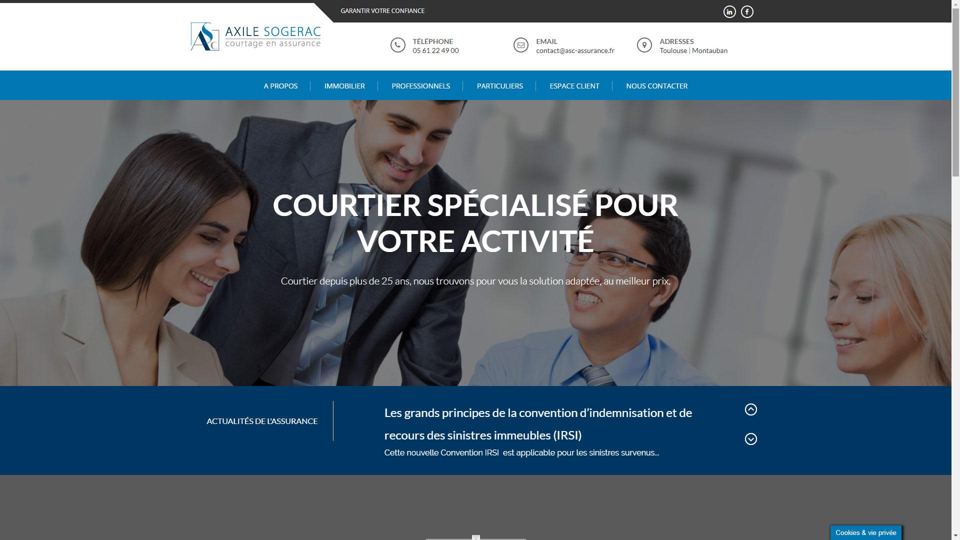 Site Internet ASC Assurance
