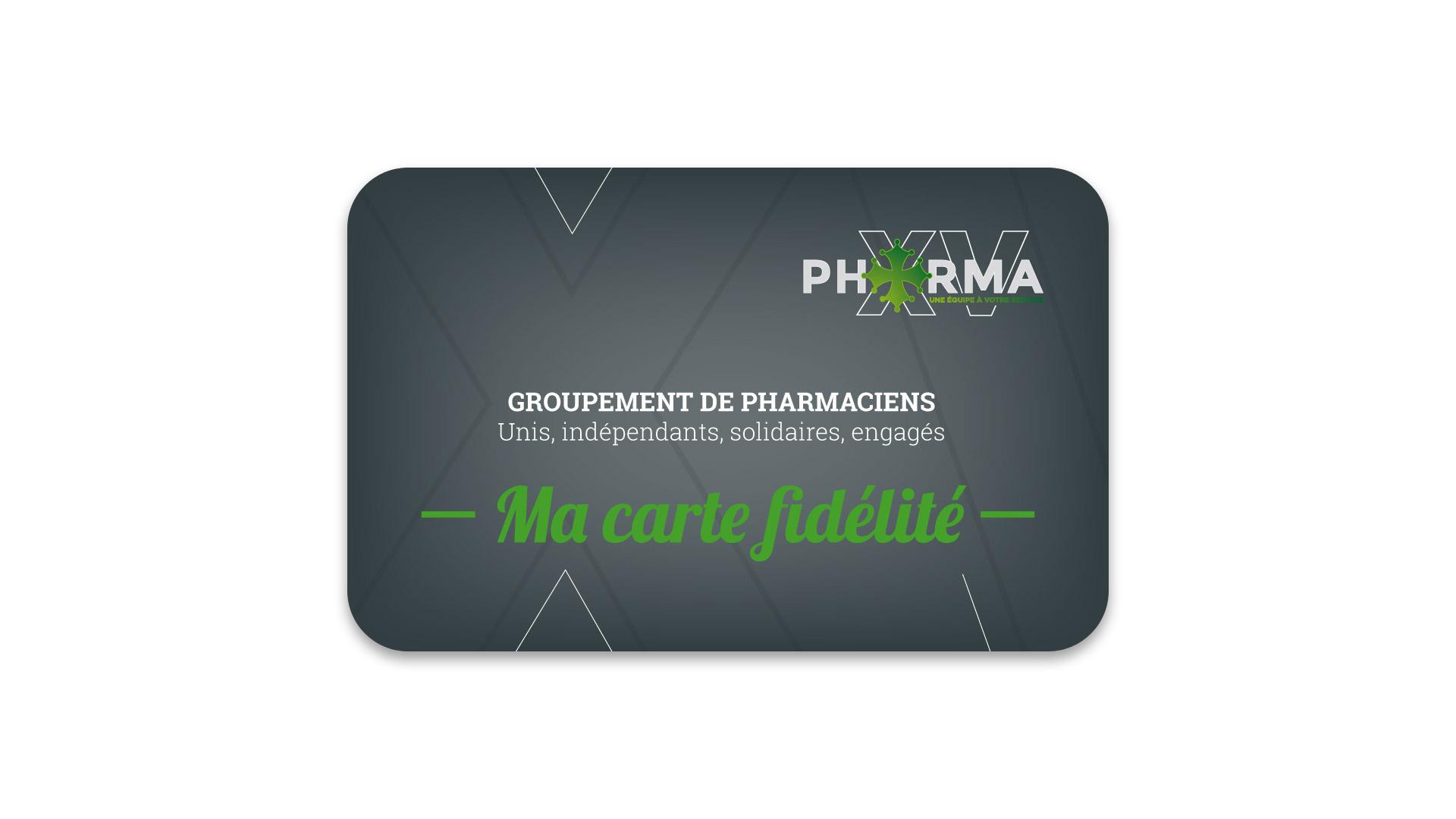 Carte de fidélité PHARMA XV